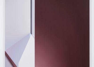 Pierre Dorion,MET B II 2016 huile sur toile de lin 72 x 54 pouces  Crédit Photo : Richard-Max Tremblay
