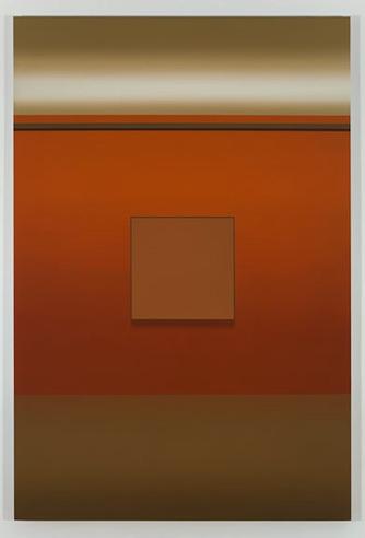 Pierre Dorion | Exposition, 2009, huile sur toile de lin, 182,9 x 121,9 cm, 72 x 48 pouces