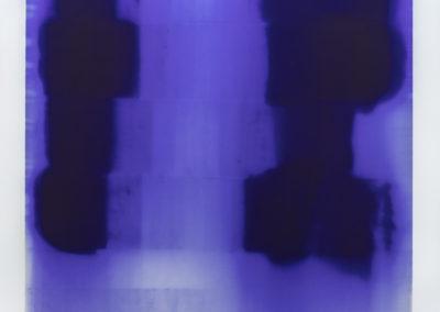 Shore Dance, 2015 encre de papier carbone sur toile 244 x 183 cm 96 x 72 pouces