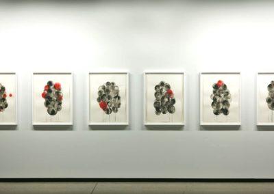 Vue de l'exposition Dissolutions Galerie René Blouin, 2012