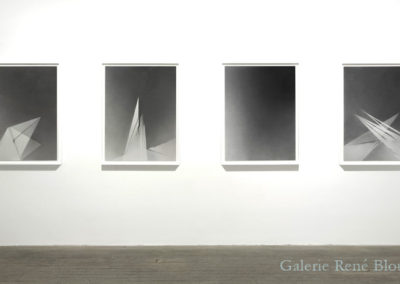 Vue d'installation, Galerie René Blouin, 2009 Crédits photo : Richard-Max Tremblay