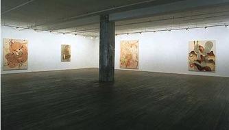 Vue d' installation, François Lacasse, Galerie René Blouin