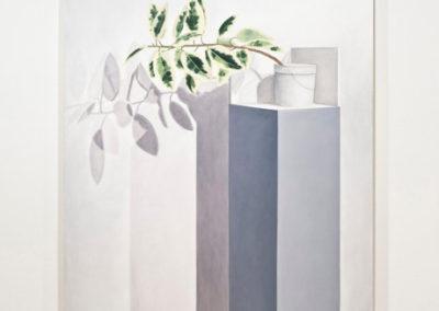 Anthony Burnham, Modern Sundays  2010 Huile sur toile 243,8 x 152,4 cm 96 x 60 pouces