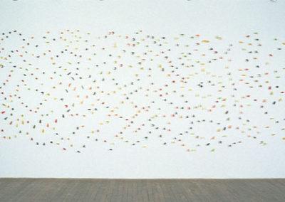 Sarah Stevenson, Colour Wall, 2003 (Galerie René Blouin)
