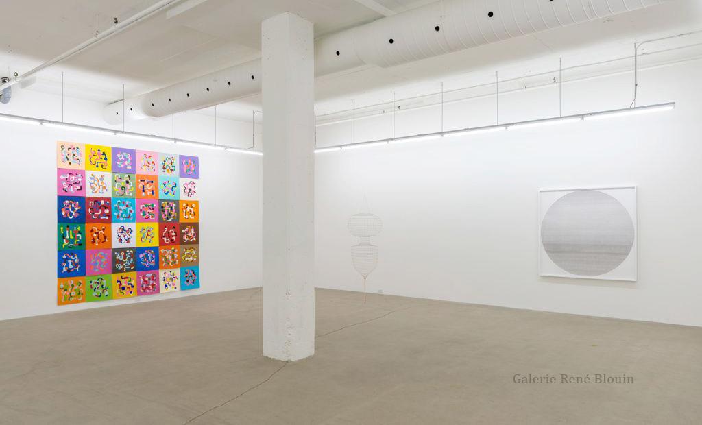 Galerie René Blouin Exposition du 30e anniversaire 20 août au 8 octobre 2016 Simon Bertrand | Serge Murphy | Sarah Stevenson Crédit photo : Guy L'Heureux