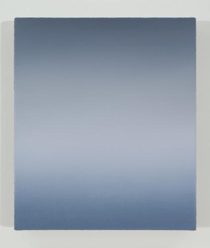 Sans titre, 2015, huile sur toile de lin, 35,5 x 30,4 cm / 14 x 12 pouces, Pierre Dorion, Vue de l'exposition Crédit Photo: Richard-Max Tremblay