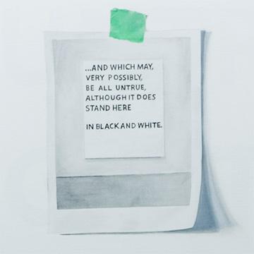 Burnham, Wolfing truthfulness, (détail) 25 ans : Exposition de groupe, Vue de l'exposition (2011) Photo: Richard-Max Tremblay