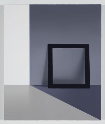 Sans titre (GBE), 2012, huile sur toile de lin, 60,9 x 50,8 cm / 24 x 20 pouces, Vue de l'exposition: Pierre Dorion 10 novembre au 22 décembre 2012
