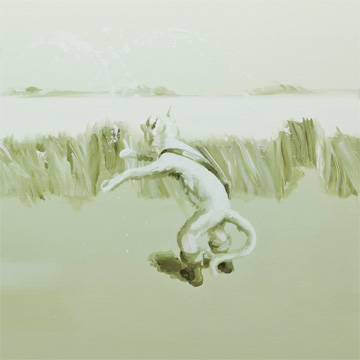 Carol Wainio, Field of Carabus (2), (détail) 25 ans : Exposition de groupe, Vue de l'exposition (2011) Photo: Richard-Max Tremblay