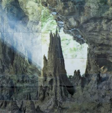 Nicolas Baier, PHOTONS (The World of the Mind), (détail) 25 ans : Exposition de groupe, Vue de l'exposition (2011) Photo: Richard-Max Tremblay