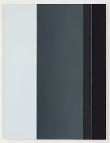 Zwirner II, 2012, huile sur toile de lin, 152,4 x 114,3 cm / 60 x 45 pouces, Vue de l'exposition: Pierre Dorion 10 novembre au 22 décembre 2012