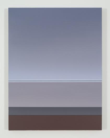 Sans titre (MM), 2015, huile sur toile de lin, 83,8 x 63,5 cm / 33 x 25 pouces, Pierre Dorion, Vue de l'exposition Crédit Photo: Richard-Max Tremblay