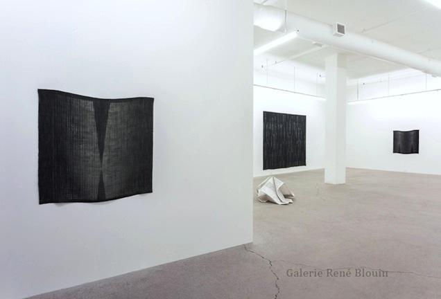Marie-Claire Blais, Vue de l'exposition (2015) Photo: Richard-Max Tremblay