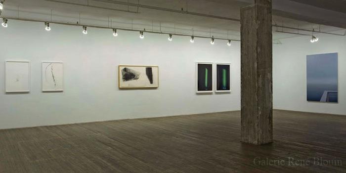 GRIS, vue d'installation, 2007 Geoffrey James, Marie-Claire Blais, Geneviève Cadieux, Betty Goodwin, Pascal Grandmaison