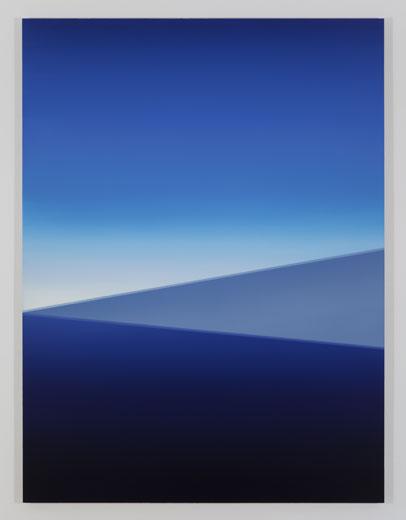 Wing, 2013, huile sur toile de lin, 182,9 x 137,2 cm / 72 x 54 pouces, Vue de l'exposition : Pierre Dorion, Salle 3 : 12 avril au 21 juin 2014