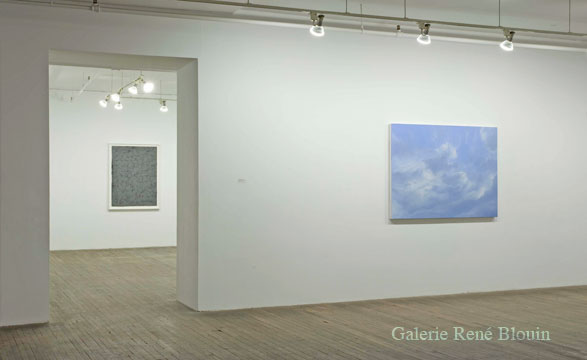 GRIS, vue d'installation, 2007 Patrick Coutu, Richard Rhodes