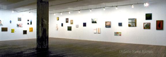 Les peintures 29 juin - 14 août 1999
