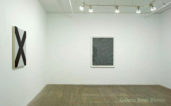 GRIS, vue d'installation, 2007 Francine Savard, Patrick Coutu