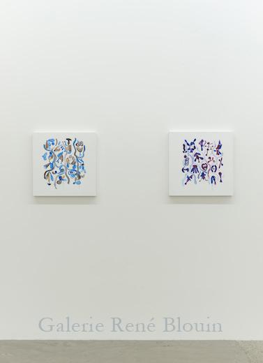 Vue de l'exposition : Ari Bayuaji et Serge Murphy , (2014) Photo: Guy L'Heureux