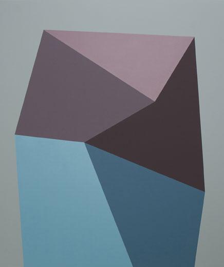 Entrave (BA), 2013 acrylique et huile sur toile, 180,3 x 152,4 cm / 71 x 60 pouces, Vue de l'exposition, Daniel Langevin, 1 février au 15 mars 2014, Crédit Photo: Guy L'Heureux