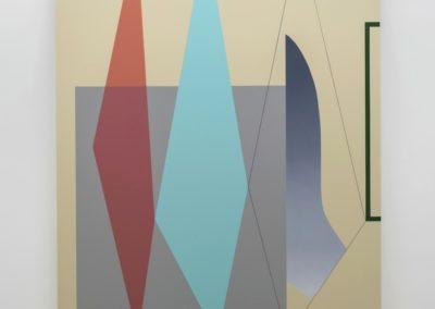 Daniel Langevin, Rossignol, 2015, Vue d'installation : Géométries (2016) Daniel Langevin | Pierre Dorion | Francine Savard Crédit photo : Guy L'Heureux