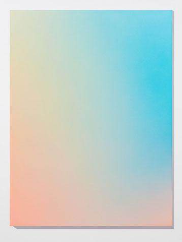 Brûler les yeux fermés, s_3, 2012 peinture acrylique en aérosol sur toile, 152,4 x 143 cm / 60 x 45, Vue de l'exposition, Marie-Claire Blais 15 septembre au 23 novembre 2012, Photo: Pascal Grandmaison