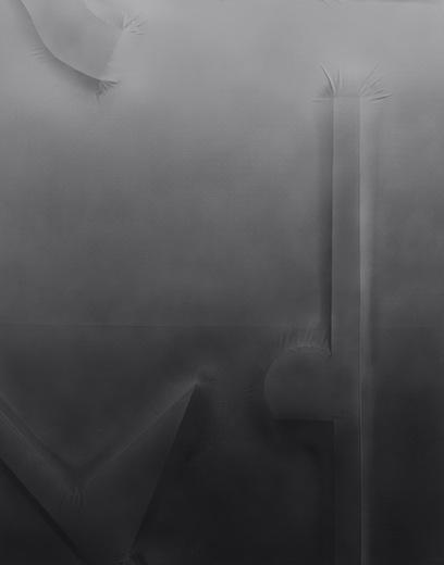 Bottomless overview, close up bottom center 019, 2014 acrylique sur toile de coton, 210 x 166 cm / 82.6 x 65.3 pouces,  Vue de l'exposition : Anthony Burnham15 novembre au 20 décembre 2014,Photo: Guy L'Heureux