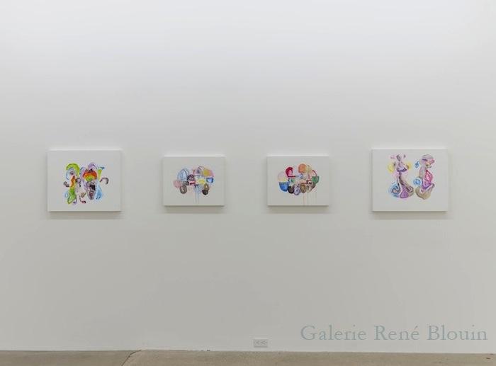 Vue de l'exposition : Ari Bayuaji et Serge Murphy 2014