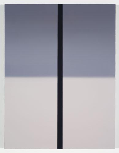 Shade, 2012, huile sur toile de lin, 83,8 x 63,5 cm / 33 x 25 pouces, Vue de l'exposition: Pierre Dorion 10 novembre au 22 décembre 2012