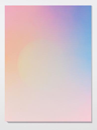 Marie-Claire Blais, Brûler les yeux fermés, S_8, 2012 peinture acrylique en aérosol sur toile, 152,4 x 143 cm / 60 x 45 pouces, Vue de l'exposition: Miroirs 30 novembre 2013 au 25 janvier 2014, Photo: Guy L'Heureux