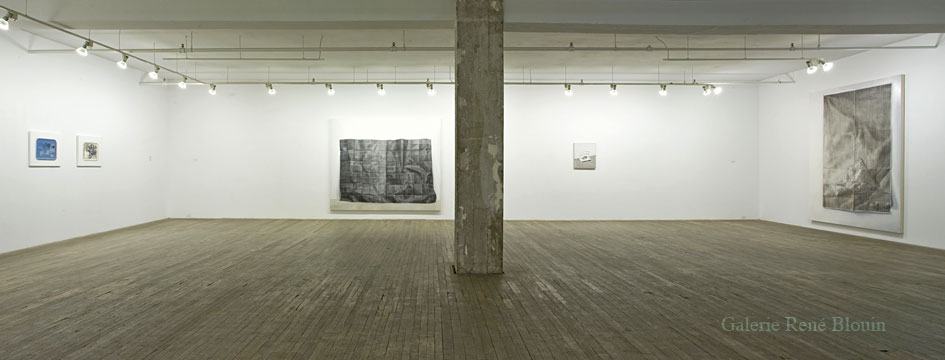 Anthony Burnham, Vue de l'exposition (2010), Photo: Richard-Max Tremblay