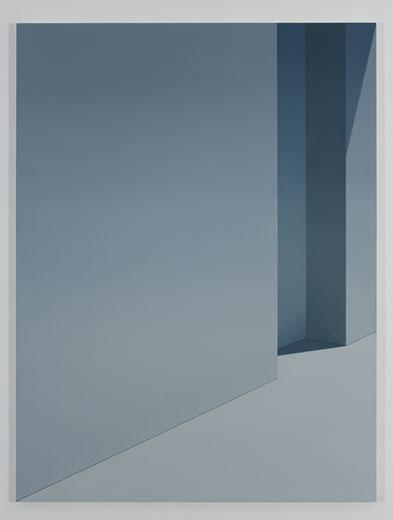 Sans titre (22nd Street), 2010, huile sur toile, 182,9 x 137,2 cm / 72 x 54 pouces, Vue de l'exposition : Pierre Dorion, Salle 3 : 12 avril au 21 juin 2014