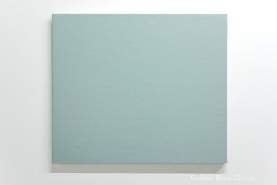 Francine Savard, MARINE, 2000-2009 acrylique sur toiles 64,8 x 76,2 x 2,86 cm / 25.5 x 30 x 1 1/8 pouces, 25 ans : Exposition de groupe, Vue de l'exposition (2011) Photo: Richard-Max Tremblay