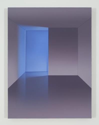 Sans titre (PP), 2015, huile sur toile de lin, 83,8 x 63,5 cm / 33 x 25 pouces, Pierre Dorion, Vue de l'exposition Crédit Photo: Richard-Max Tremblay