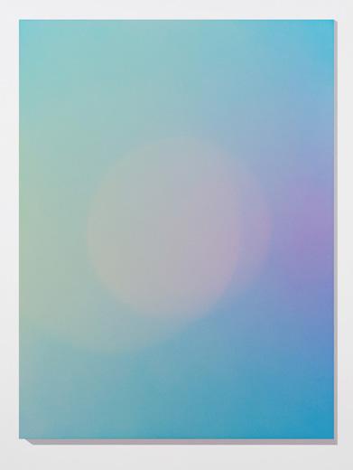 Marie-Claire Blais, Brûler les yeux fermés, S_10, 2012 peinture acrylique en aérosol sur toile, 152,4 x 143 cm / 60 x 45 pouces, Vue de l'exposition: Miroirs 30 novembre 2013 au 25 janvier 2014, Photo: Guy L'Heureux