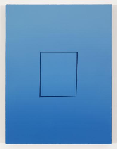 Ouverture IV, 2011, huile sur toile de lin, 83,8 x 63,5 cm / 33 x 25 pouces, Vue de l'exposition: Pierre Dorion 10 novembre au 22 décembre 2012