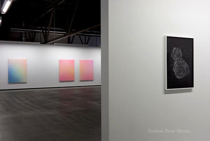 Vue de l'exposition, Marie-Claire Blais 15 septembre au 23 novembre 2012, Photo: Pascal Grandmaison