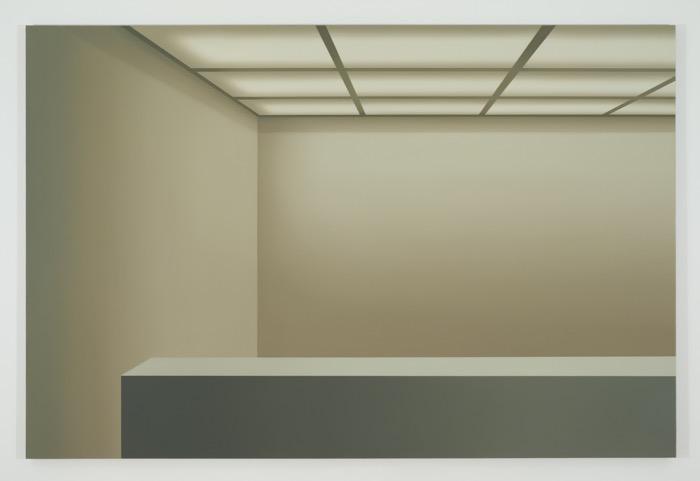 Sans titre (VGM), 2015, huile sur toile de lin, 162,5 x 243,8 cm / 64 x 96 pouces, Pierre Dorion, Vue de l'exposition Crédit Photo: Richard-Max Tremblay