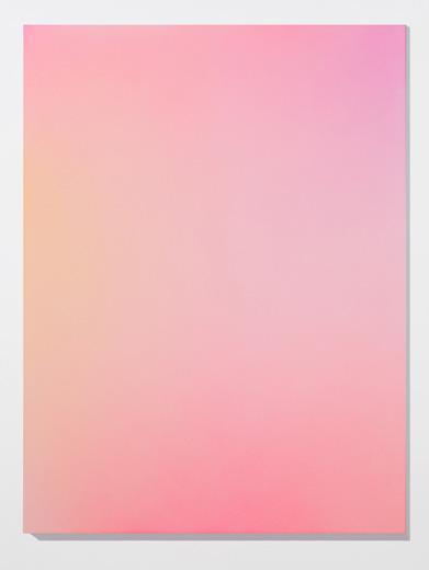 Marie-Claire Blais, Brûler les yeux fermés, S_1, 2012 peinture acrylique en aérosol sur toile, 152,4 x 143 cm / 60 x 45 pouces, Vue de l'exposition: Miroirs 30 novembre 2013 au 25 janvier 2014, Photo: Guy L'Heureux