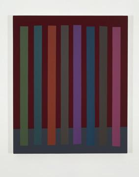 Platebande (VIII), 2011 acrylique et huile sur toile 91,5 x 76,2 cm / 36 x 30 pouces, Vue de l'exposition (2011), Daniel Langevin, Photos: Richard-Max Tremblay