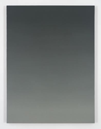 Dusk VI, 2015, huile sur toile de lin, 121,9 x 91,4 cm / 48 x 36 pouces, Pierre Dorion, Vue de l'exposition Crédit Photo: Richard-Max Tremblay