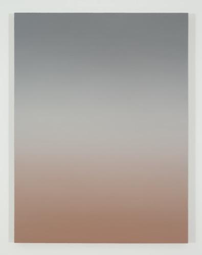 Dusk V, 2015, huile sur toile de lin, 121,9 x 91,4 cm / 48 x 36 pouces, Pierre Dorion, Vue de l'exposition Crédit Photo: Richard-Max Tremblay
