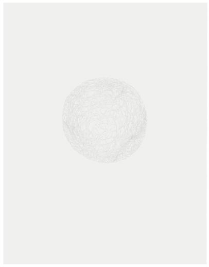 Silence Vue de l'exposition, Blancs Marie-Claire Blais | Geneviève Cadieux | Chris Kline28 juin au 20 septembre 2014, Crédit photo : Guy L'Heureux