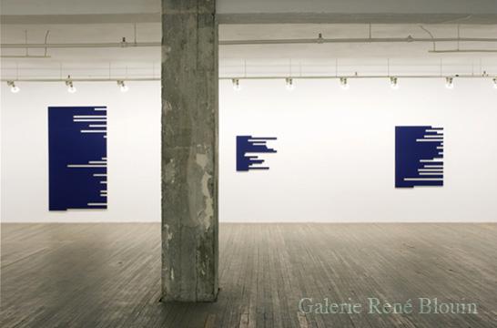 Francine Savard, Vue de l'exposition, 2 x 100% (2007)