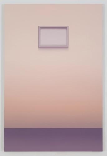 Venezia (RW), 2015, huile sur toile de lin, 182,8 x 121,9 cm / 72 x 48 pouces, Pierre Dorion, Vue de l'exposition Crédit Photo: Richard-Max Tremblay