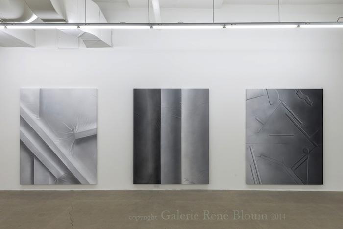 Vue de l'exposition : Anthony Burnham15 novembre au 20 décembre 2014,Photo: Guy L'Heureux
