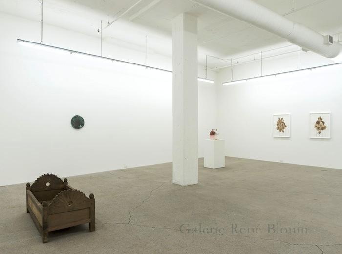 Vue de l'exposition : Ari Bayuaji et Serge Murphy
