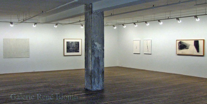 GRIS, vue d'installation, 2007 Marie-Claire Blais, Geneviève Cadieux, Betty Goodwin, Pascal Grandmaison, Pierre Dorion
