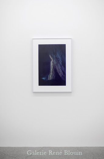 Second regard 1, 2013, édition de 3, impression au jet d'encre, 88,9 x 66 cm / 35 x 26 pouces, Vue de l'exposition: Pascal Grandmaison12 octobre au 23 novembre 2013, Photo: Pascal Grandmaison