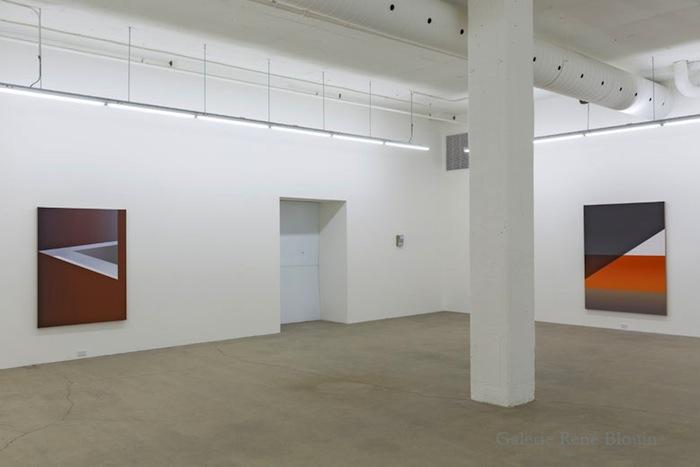 Vue de l'exposition : Pierre Dorion, Salle 3 : 12 avril au 21 juin 2014